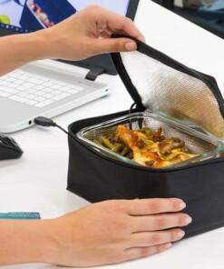 Torba termiczna USB na pojemnik na lunch