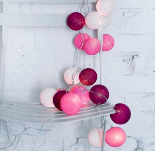 hanksome lights pink