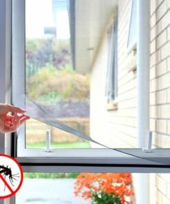 Moskitiera okienna na rzep
