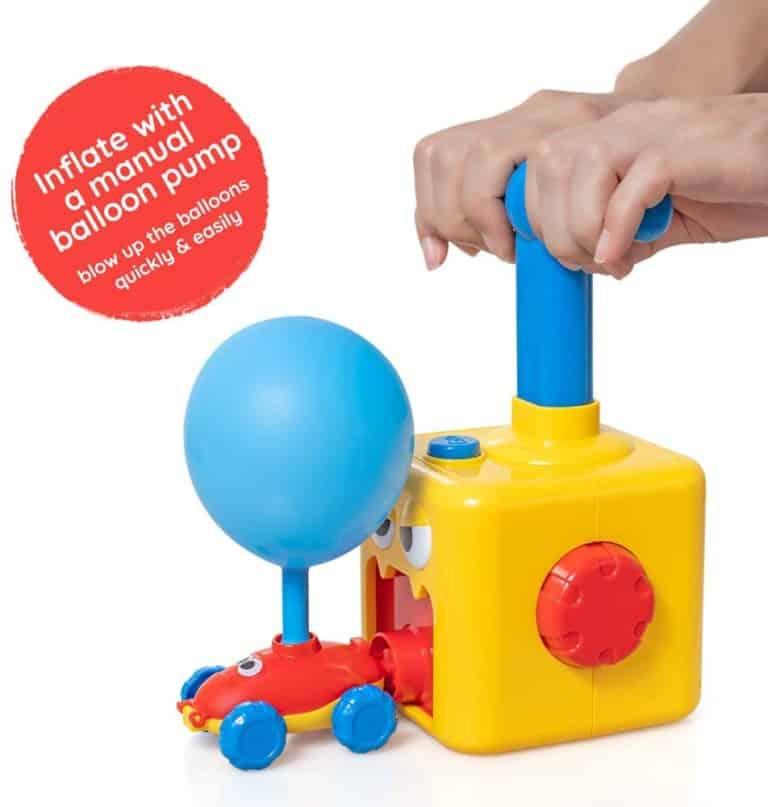 Wyrzutnia samochodzików z balonikami